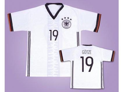 Fotbalový dres Götze Německo (Velikost XXL)