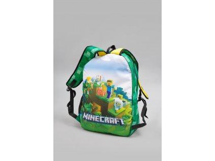 školní batoh minecraft