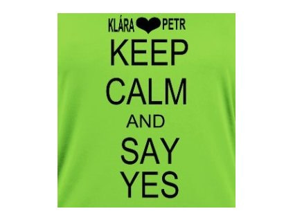 1670 1 potisk keep calm yes