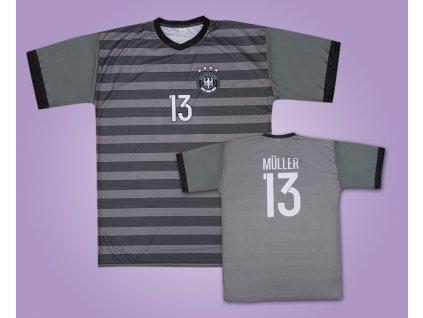 Fotbalový dres Německo Müller (Velikost 110 cm (2-3 roky))