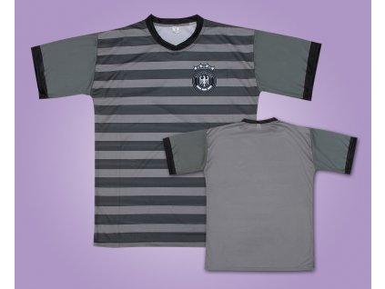 Fotbalový dres Německo šedý