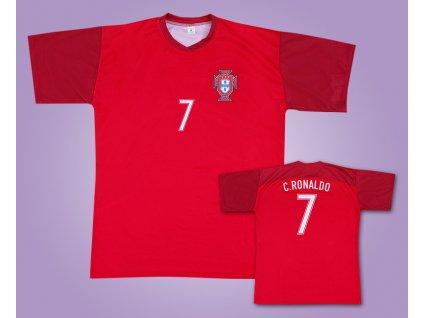 Fotbalový dres Portugalsko Ronaldo (Velikost 128 cm (4-6 let))