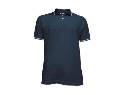 Tričko pánské Polo modré (Velikost L)