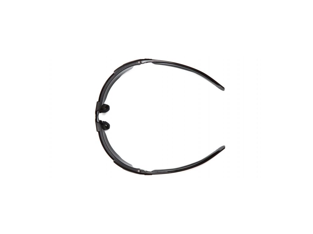 Flex-Zone ESB9220ST, ochranné brýle, nemlživé, černá obruba, šedé
