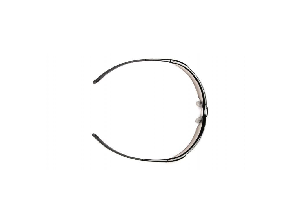 Ever-Lite ESB8620D, ochranné brýle, černá obruba, šedé