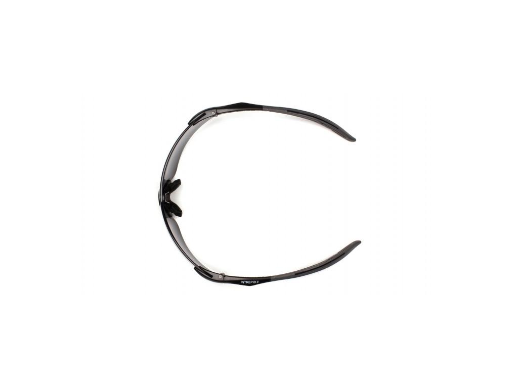 Intrepid II ESB8820S, ochranné brýle, černá obruba, šedé