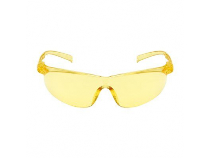 3m tora safety glasses anti scratch anti fog amber lens 71501 center front out