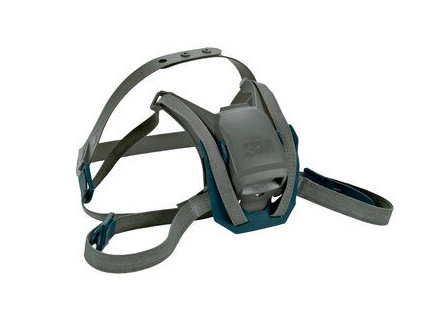 3m rugged comfort quick latch head harness assembly 6582