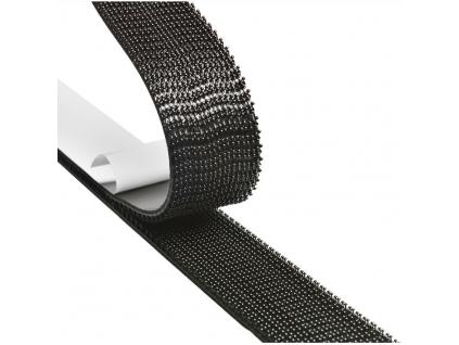 SJ 3540 samolepicí suchý zip 3M DUAL-LOCK, cena za 1 běžný metr, černý