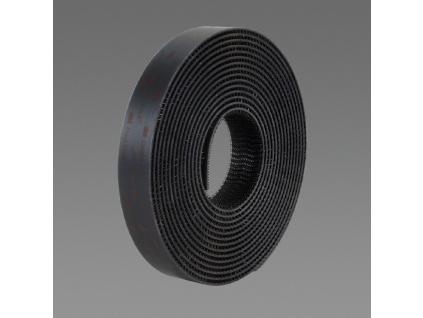 SJ 3550 samolepicí suchý zip 3M DUAL-LOCK, cena za 1 běžný metr, černý