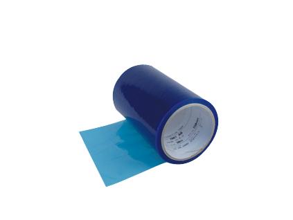 7007AB modrá ochranná fólie 3M pro kovové povrch, návin 350m, tloušťka 0,070 mm