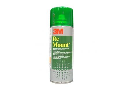 ReMount 3M 400 ml, Post-It repoziční lepidlo umožňující neomezené přemisťování