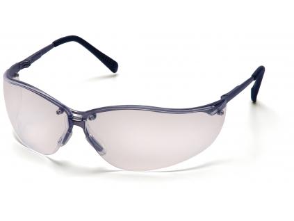 V2 - Metal ESGM1810S, ochranné brýle, kovová obroučka a stranice, čiré