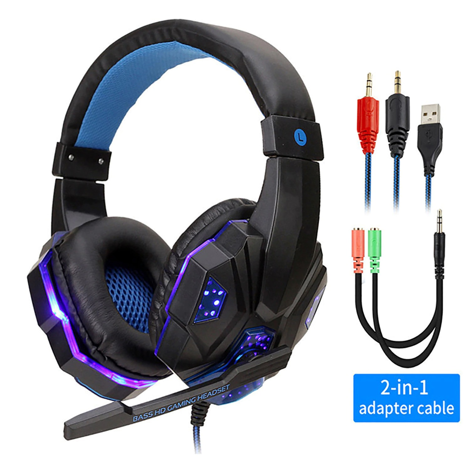 BlackBlue with Light_professional-led-light-gamer-headset-for_variants-2