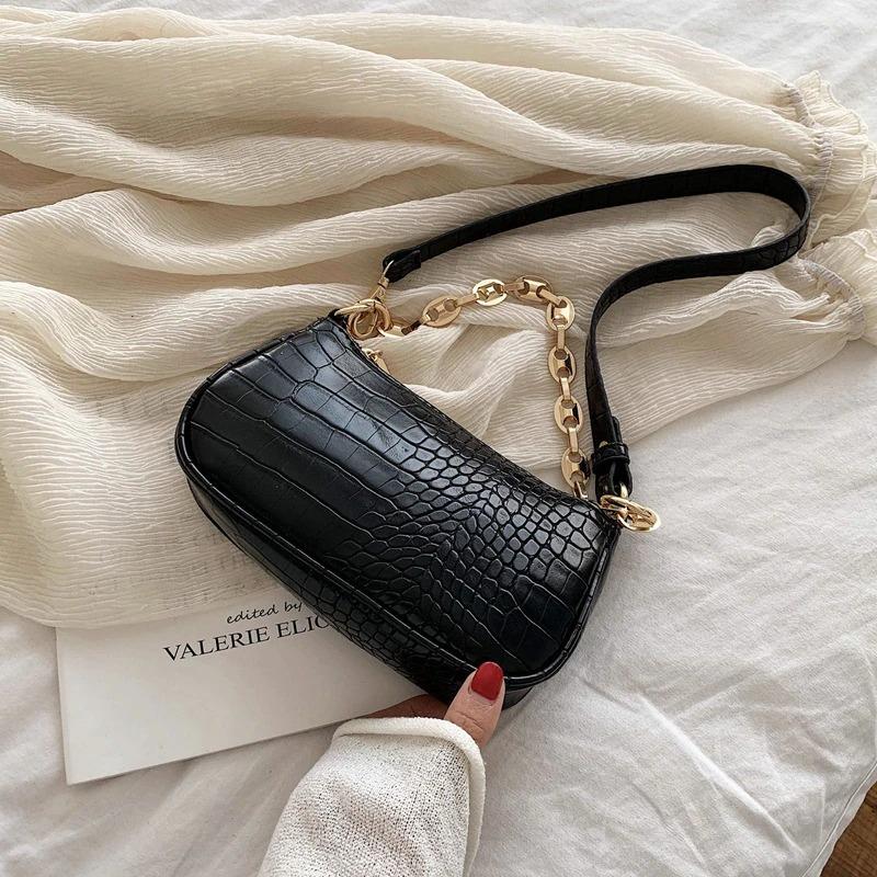 Black_fashion-crocodile-pattern-baguette-bags_variants-1