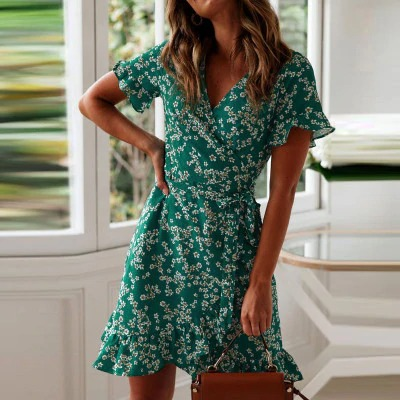 green_women-dresses-summer-2020-sexy-v-neck-fl_variants-0