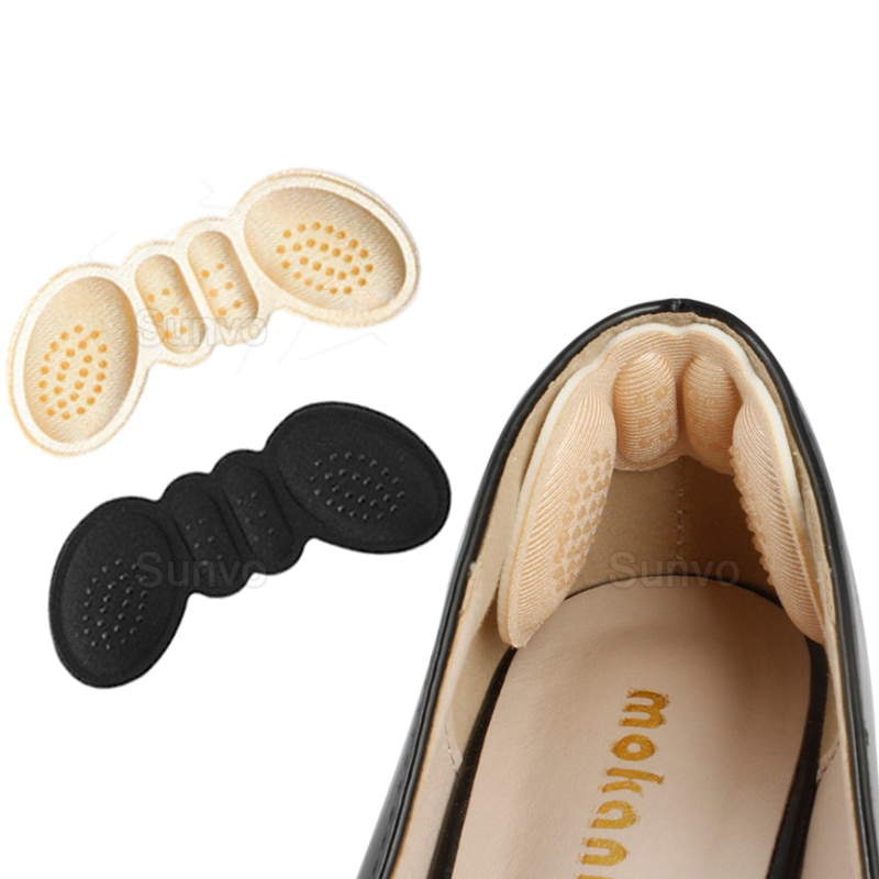 mainimage0Sunvo-Women-Insoles-for-Shoes-High-Heels-Adjust-Size-Adhesive-Heel-Liner-Grips-Protector-Sticker-Pain