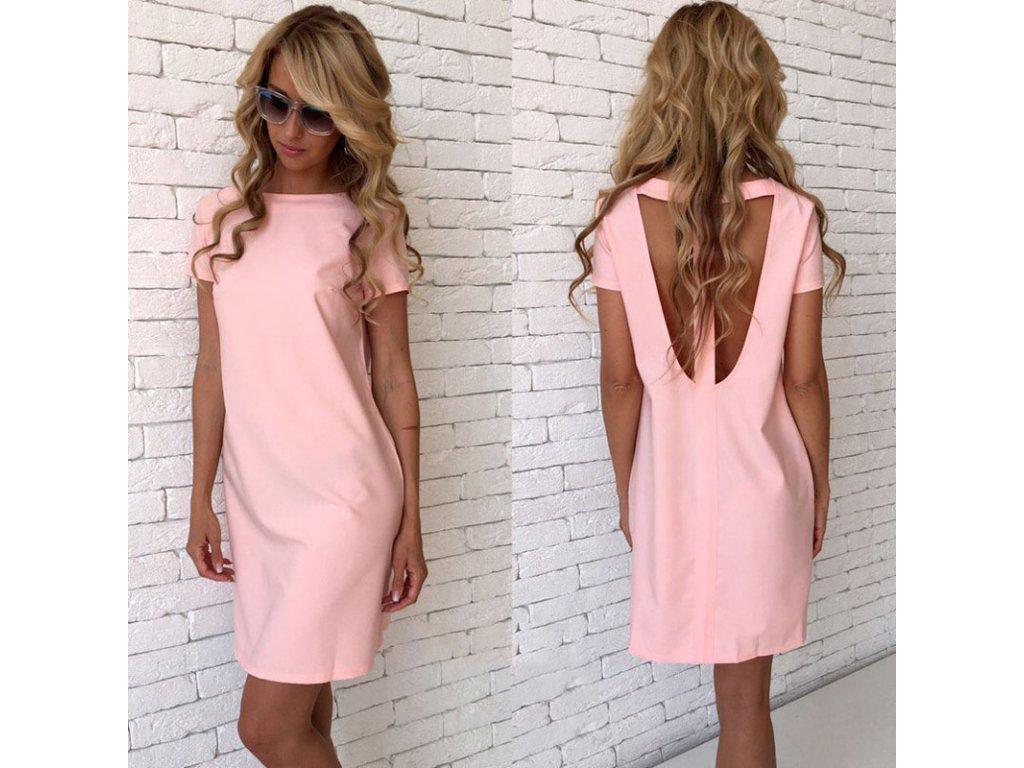 Barevné letní šaty - SLEVA 60% d5656d6faf