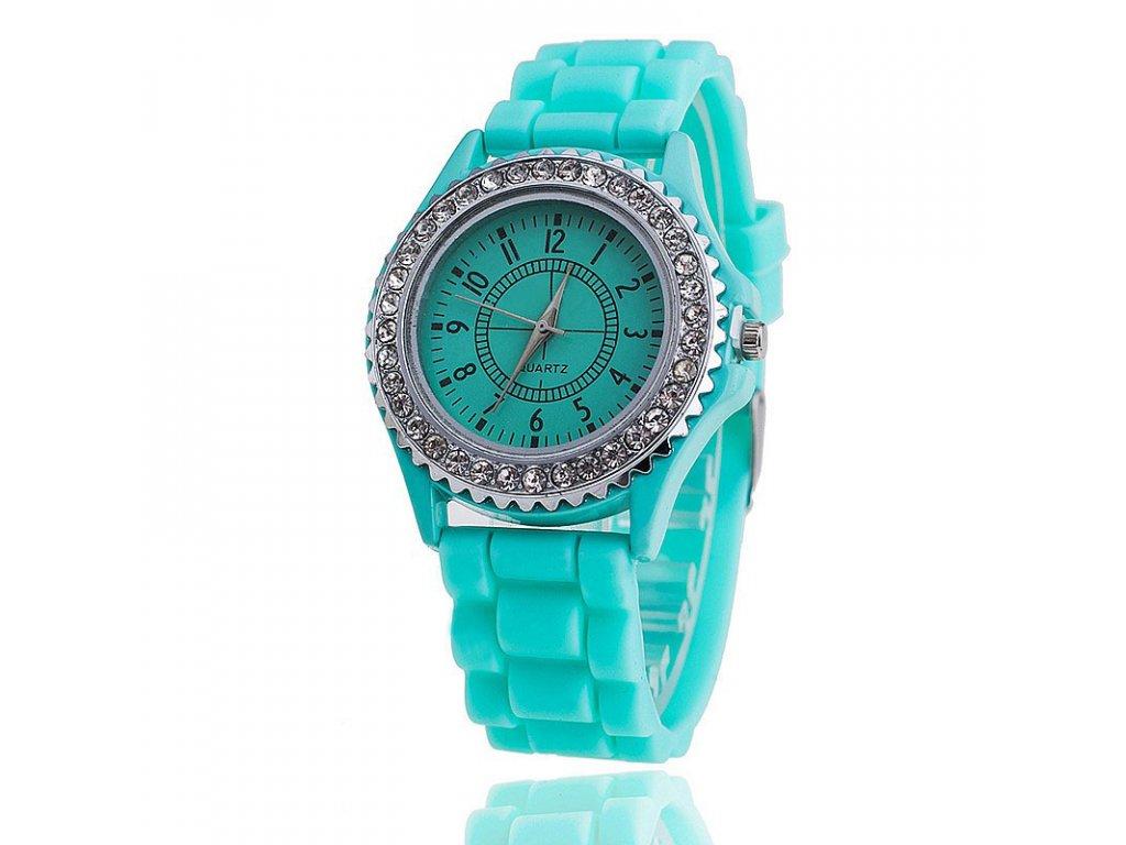 8a0397931 Barevné silikonové hodinky - SLEVA 57%
