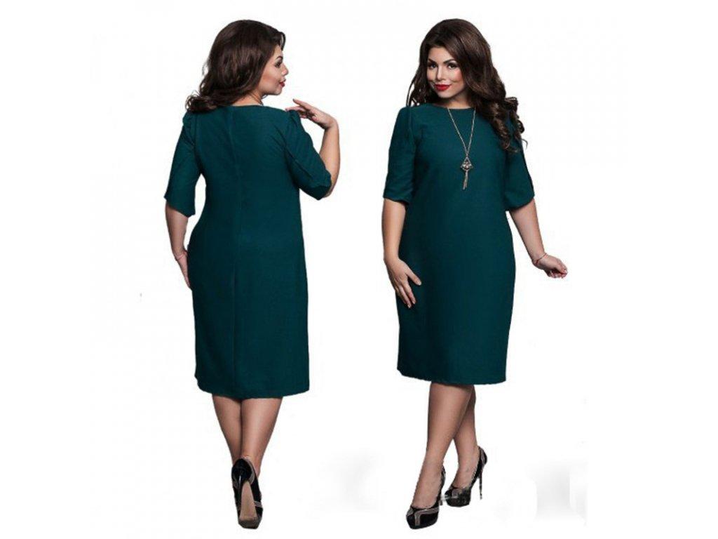 61bddeb4820 Letní plus size šaty - SLEVA 50%
