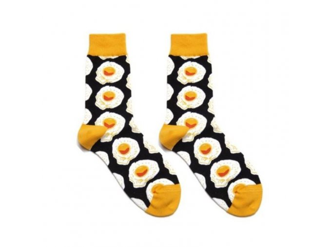 Vtipné ponožky se vzory - SLEVA 70%