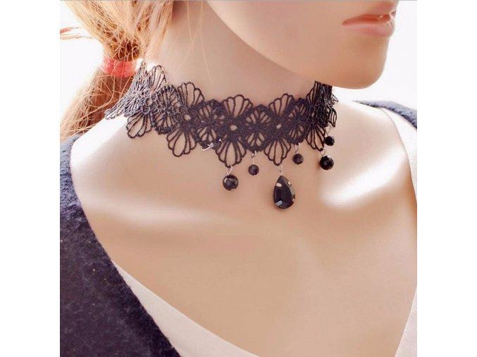 Dámský choker náhrdelník