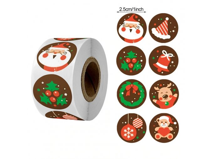 Style3 00 pcs merry christmas stickers christma variants 2