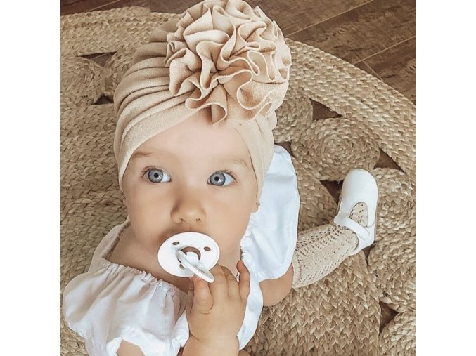 mainimage0Flower Baby Hat Toddler Turban 6m 18m Infant Headwraps Kids Bonnet Newborn Toddler Beanie Cap