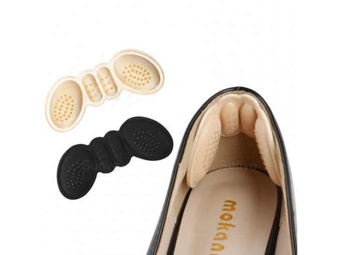 mainimage0Sunvo Women Insoles for Shoes High Heels Adjust Size Adhesive Heel Liner Grips Protector Sticker Pain