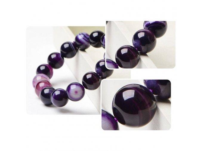 fashion purple onyx bracelets for women main 3