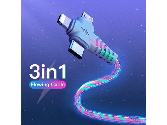 3 in 1 flow luminous lighting usb cable fo main 0