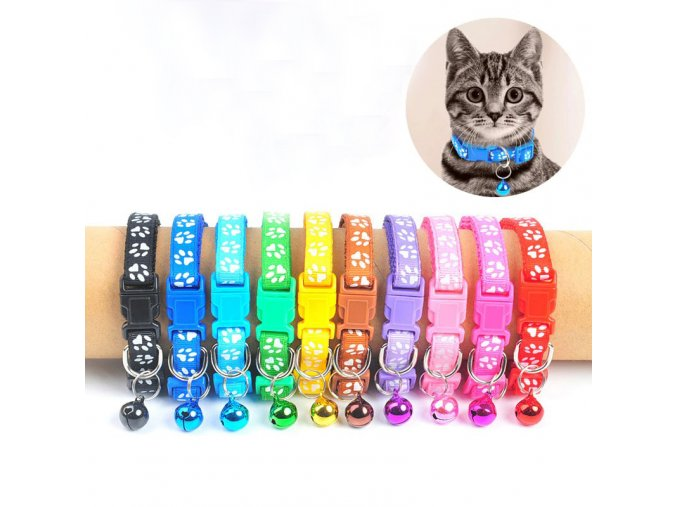 new cute bell collar for cats dog collar main 0