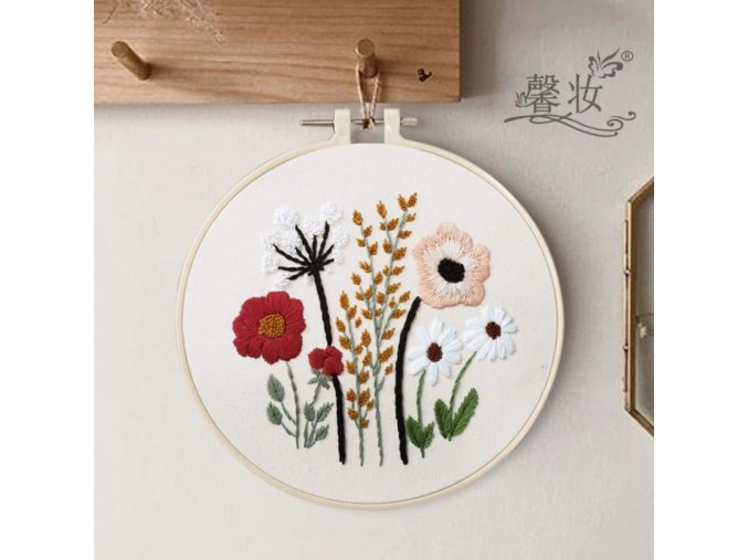 A1 european style flowers diy embroidery ri variants 0