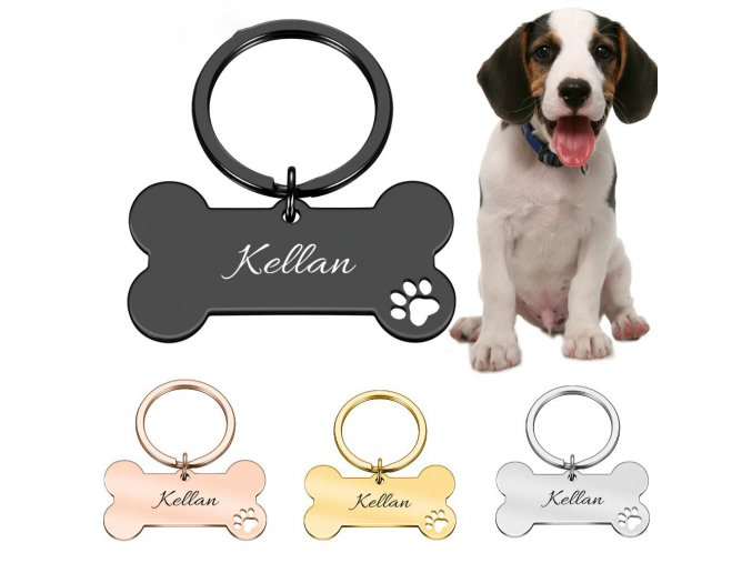 personalized collar pet id tag engraved main 0
