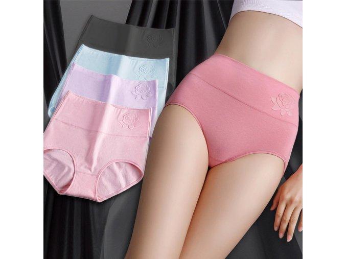 cotton womens panties elastic soft larg main 0