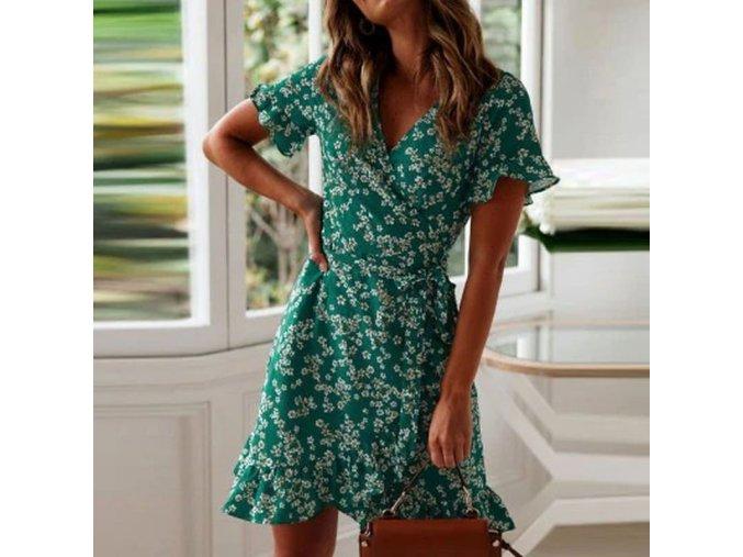 green women dresses summer 2020 sexy v neck fl variants 0