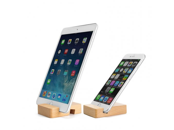wooden phone holder stand for i phone 11 main 1