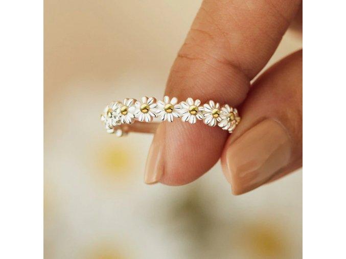 vintage daisy rings for women cute flowe main 0