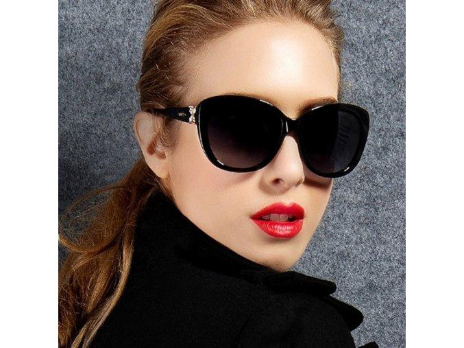 Retro dámské sluneční brýle