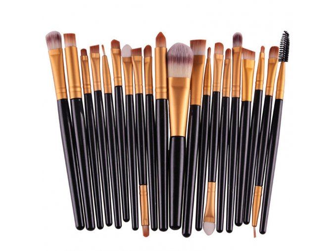 Štětce na makeup - sada 20 ks
