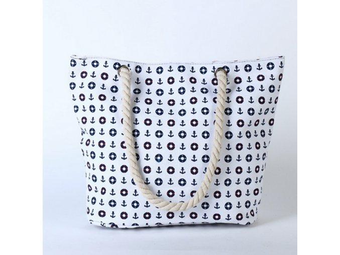 Stylová letní taška bílá