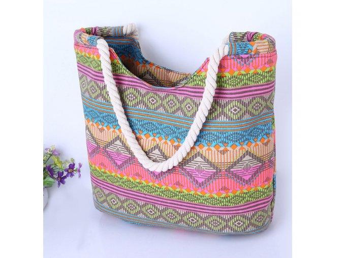 Barevná letní taška