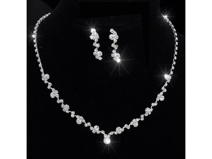 Luxusní dámská sada šperků