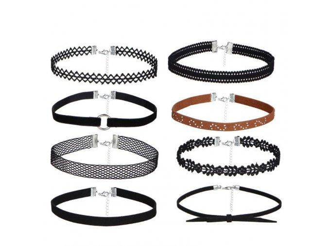 Stylové dámské náhrdelníky