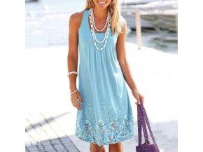 Letní plážové šaty - SLEVA 64%