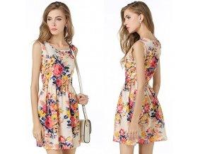 Květované letní šaty