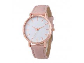 Elegantní dámské hodinky béžové