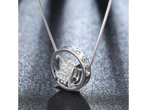 Dámský náhrdelník se srdcem