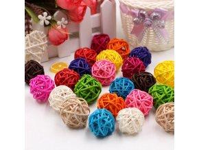 Mixed color 10pcs 10 pcs 3 7 cm artificial straw ball star variants 27