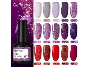 elfavor uv nail gel 8 ml for manicure na main 0